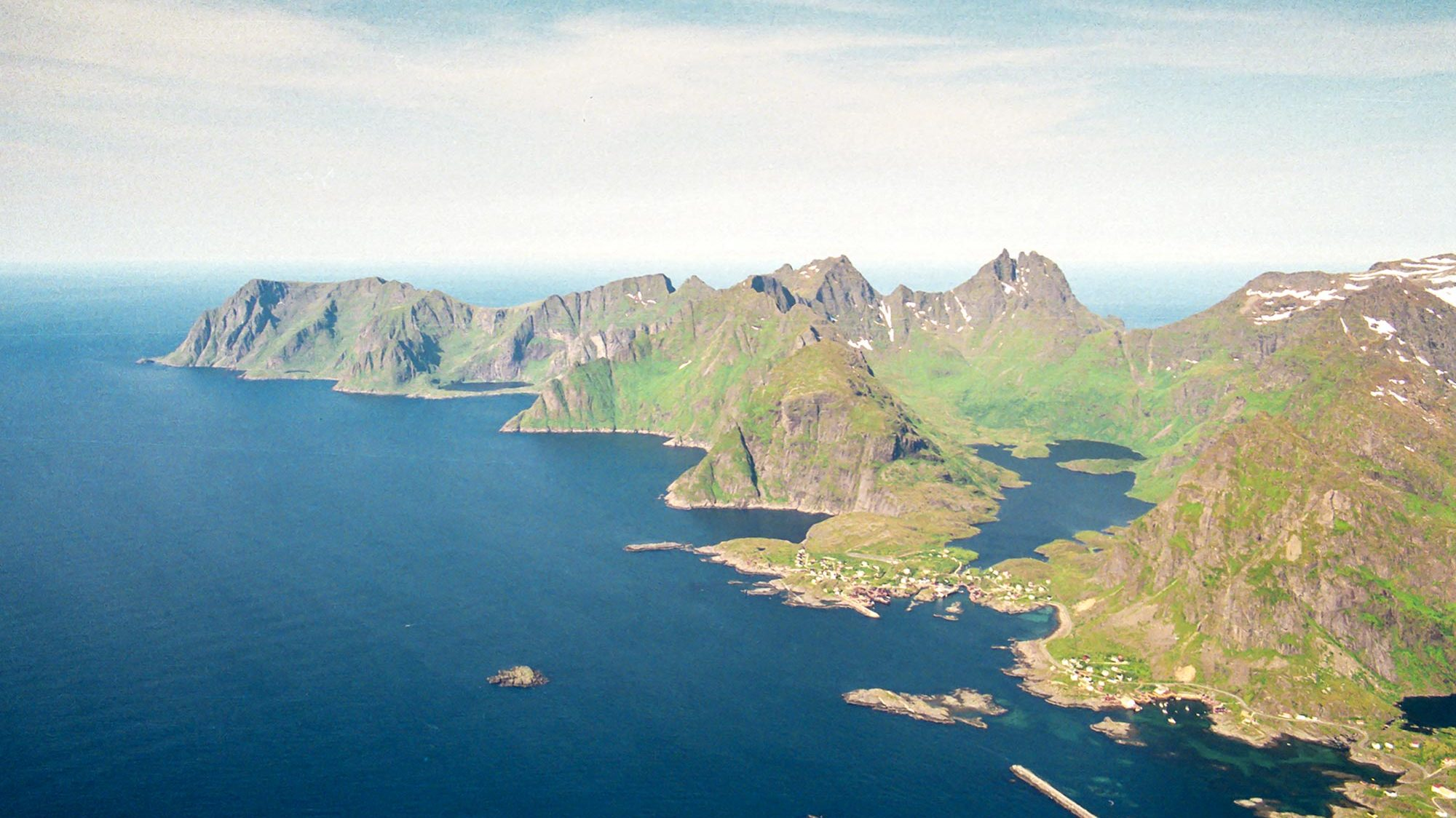 Å i Lofoten and the Moskenesstraumen